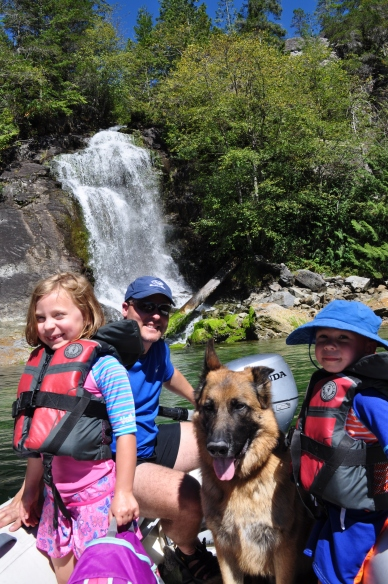 Cassel Lake Falls