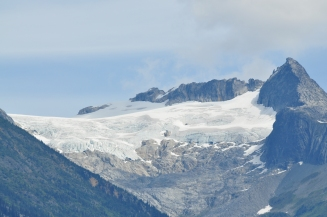 Glaciers at Bute Inlet