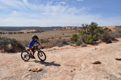 Alexander tearing it up in Moab