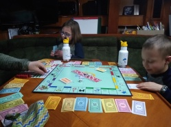 Family Monopoly night